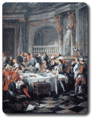 The oyster Lunch : Jean-François TROY(1679-1752)